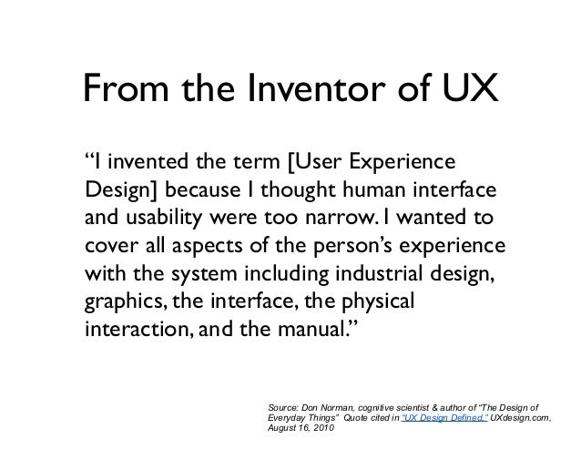 ux thinking and restaurants