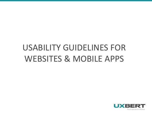 Research-based web design usability guidelines