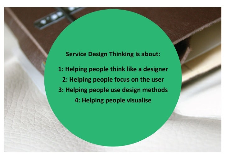 OrganisaIons  that  use  design           doing  +  thinking