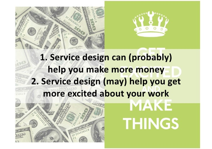 6  Ips  for  geang  more  into                 service  design
