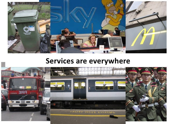 Services	   are	   everywhere