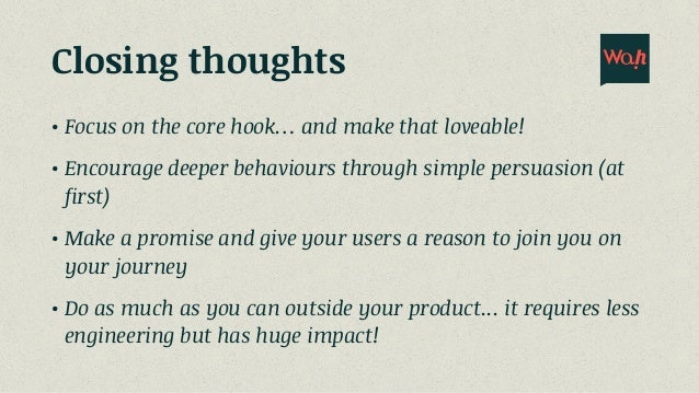 Using behaviour design to create a minimum loveable product