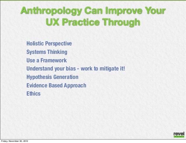 Anthropologists moral obligations
