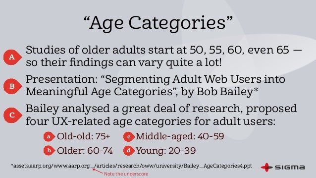 age related issues older adults
