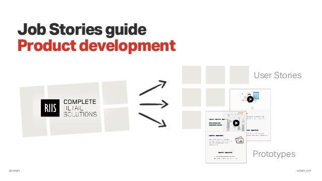 @cabgfx cabgfx.com JobStoriesguide Productdevelopment User Stories Prototypes