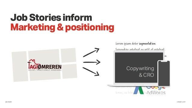 @cabgfx cabgfx.com JobStoriesinform Marketing&positioning Lorem ipsum dolor segmentation. Suspendisse volutpat eu velit et...