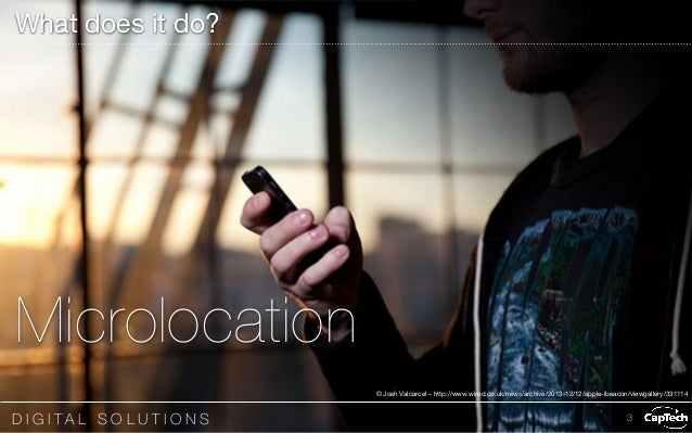 iBeacons & UX: What they are and why you should care Slide 3