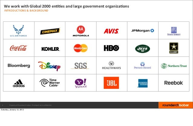 We work with Global 2000 enBBes and large government organizaBons     INTRODUCTIONS & BACKGROUND 4  ...