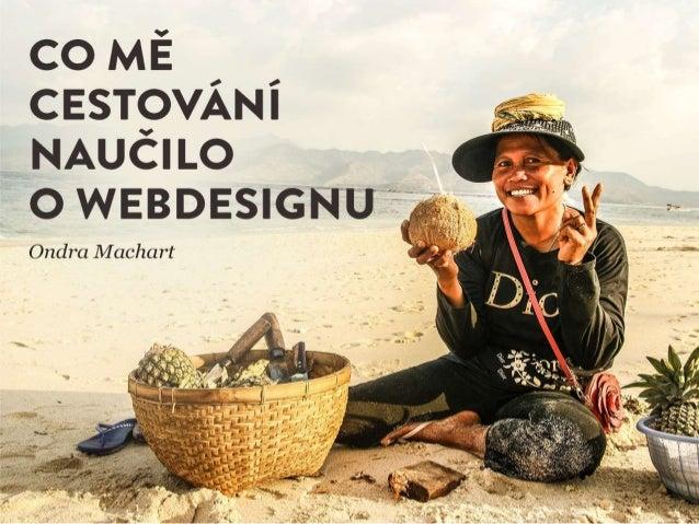 Co mě cestování naučilo o webdesignu