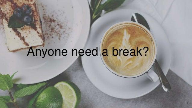 Anyone need a break? 17