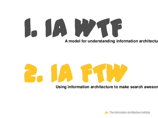 ... Information Architecture Institute (c) 2013; 11.