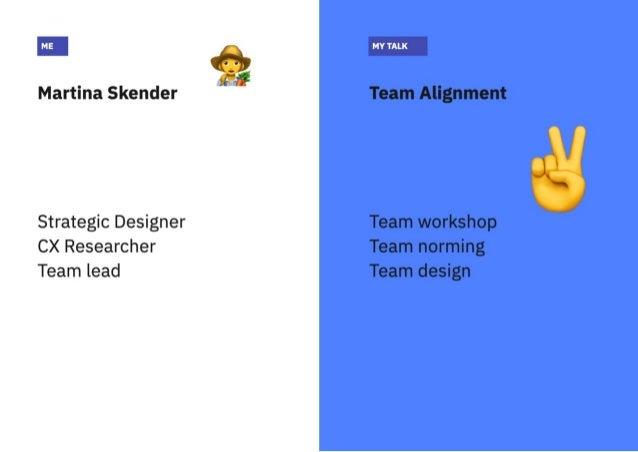 UX Crunch   Lean UX & Working agile   Team alignment Slide 2