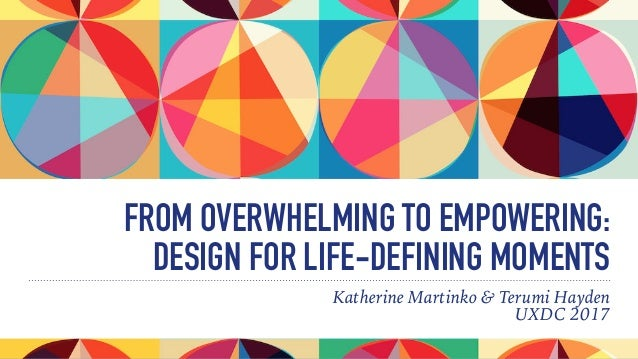 FROM OVERWHELMING TO EMPOWERING: 