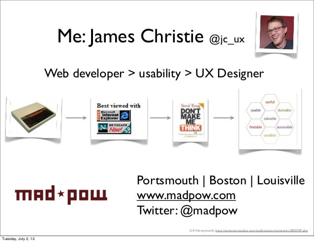 Optimizing design: a UX practitioners guide Slide 2