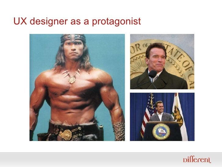 UX designer as a protagonist