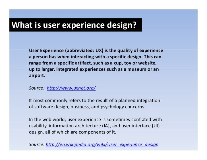 Whatisuserexperiencedesign?                p            g      UserExperience(abbreviated:UX)isthequalityofexp...
