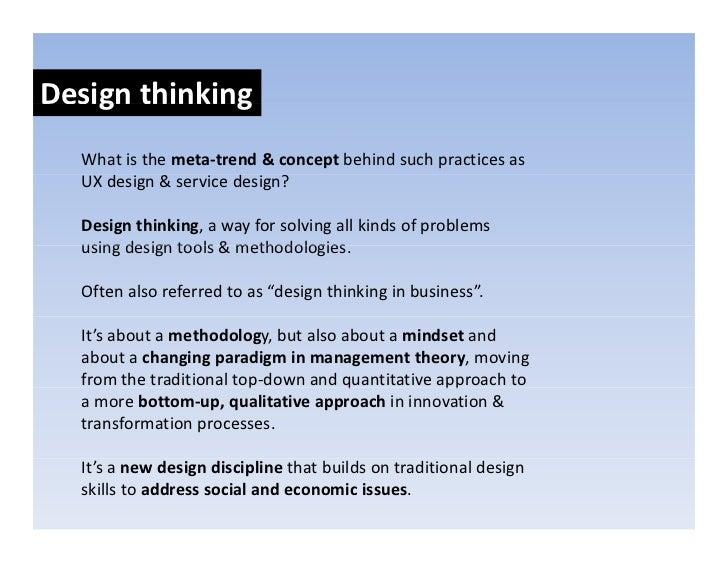 """Design thinking: Process Designthinking:  EXPLORATORYMINDSET  Decisionmindset:""""Iamgoingtoidentifyallthealterna..."""