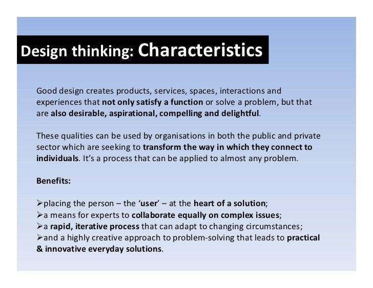 Design thinking: Process Designthinking:   Designthinkingnorms     Process                   Observe&        Ideate...