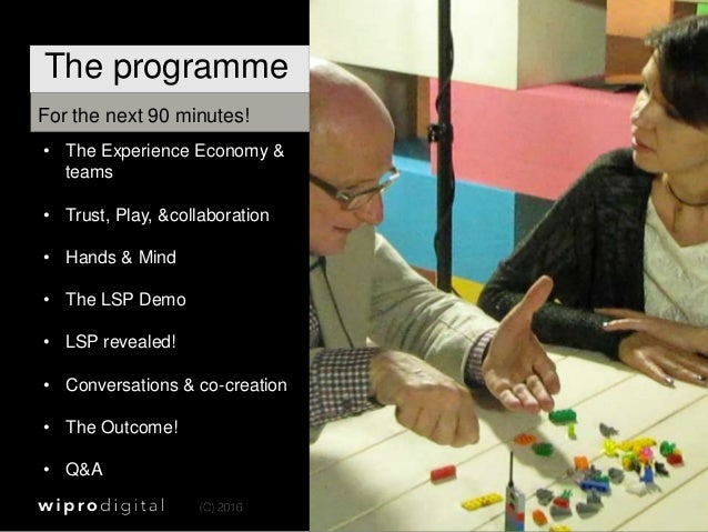 Using LEGO Serious Play to boost collective creativity & increase trust Slide 2