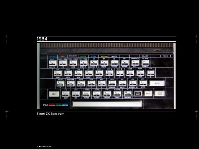 + + + + + + + + PEDRO CARDOSO, 2015 1984 Timex ZX Spectrum