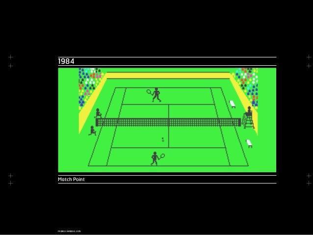 + + + + + + + + PEDRO CARDOSO, 2015 1984 Match Point