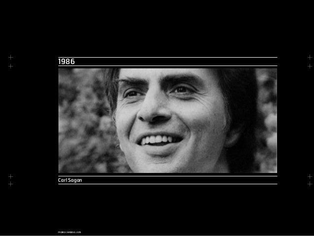 + + + + + + + + PEDRO CARDOSO, 2015 1986 Carl Sagan