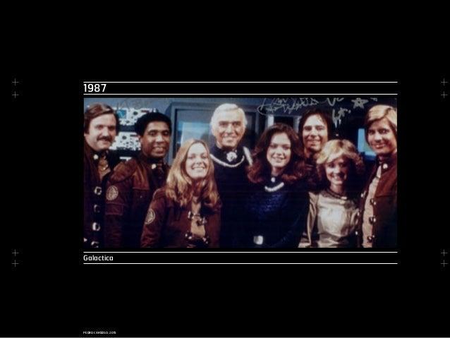 + + + + + + + + PEDRO CARDOSO, 2015 1987 Galactica