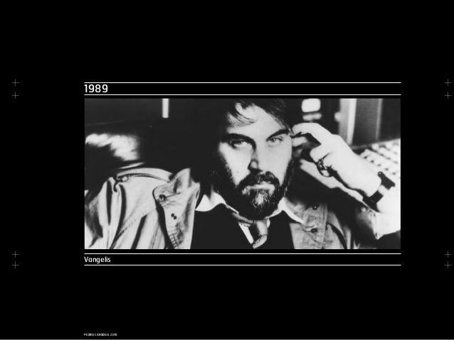 + + + + + + + + PEDRO CARDOSO, 2015 1989 Vangelis