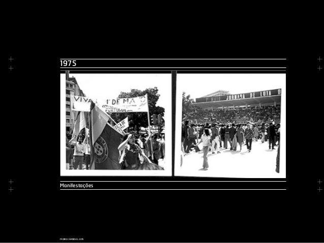 + + + + + + + + PEDRO CARDOSO, 2015 1975 Manifestações