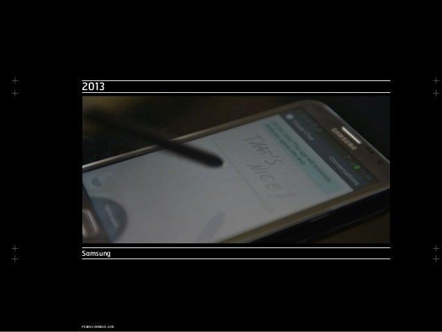 + + + + + + + + PEDRO CARDOSO, 2015 2013 Samsung