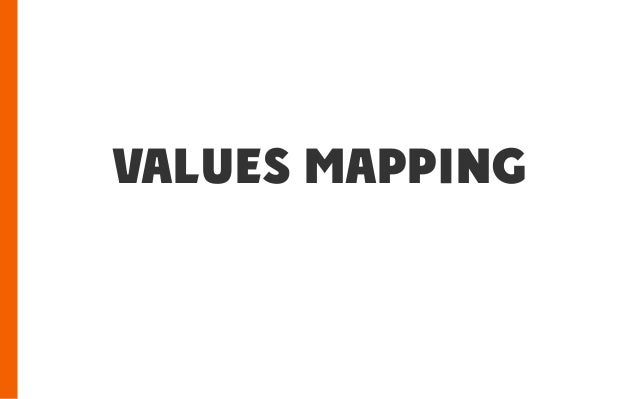 values mapping