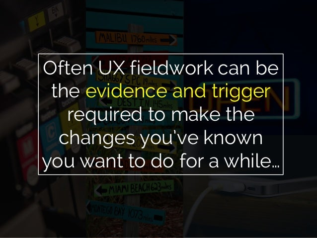 UX, ethnography and possibilities: for Libraries, Museums and Archives