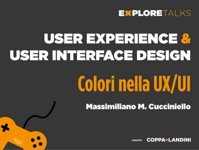 UX UIdalla prototipazione al design finale Differenze tra UX e UI