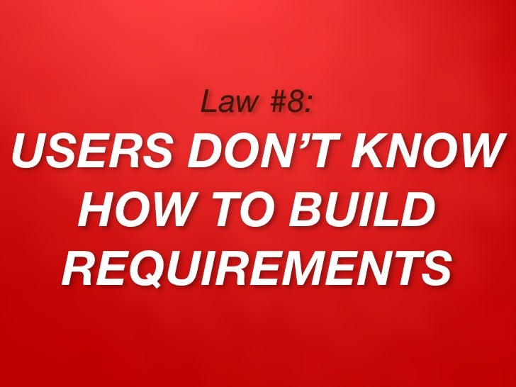Law #9: RIGID PLANS ARE  PLANS TO FAIL