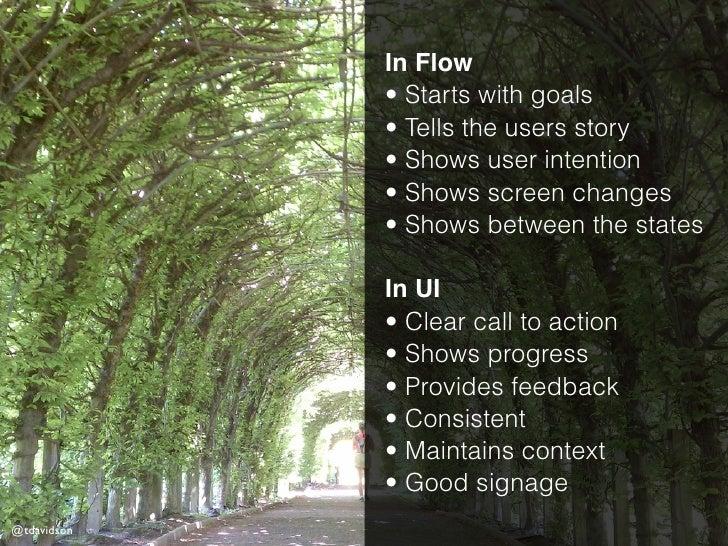A Good UI Flow