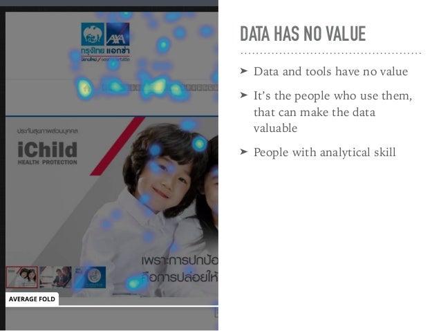 UX + DATA