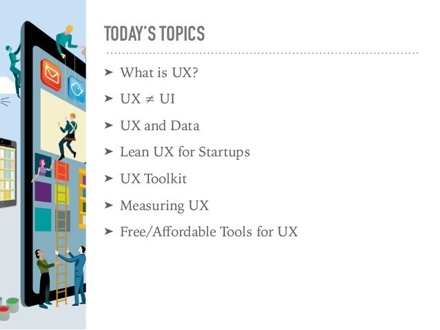 UX Fundamentals for Startups Slide 3