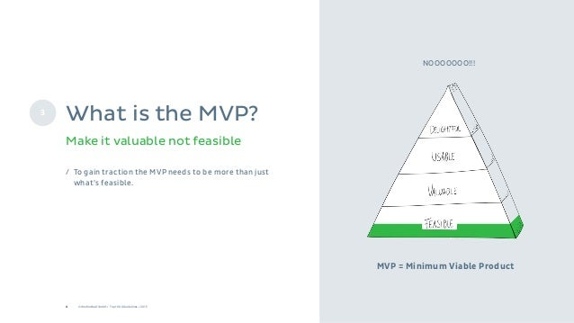 8 © Onefootball GmbH / Top 10 UX Guidelines / 2015 MVP = Minimum Viable Product / To gain traction the MVP needs to be mor...