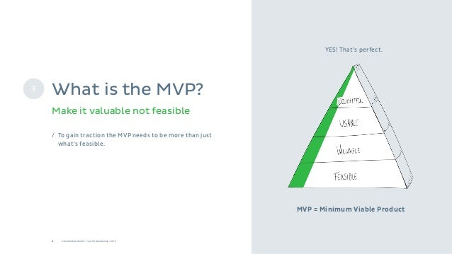 9 © Onefootball GmbH / Top 10 UX Guidelines / 2015 / To gain traction the MVP needs to be more than just what's feasible. ...