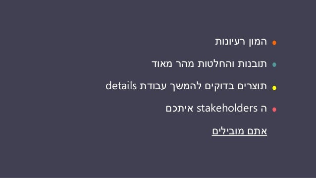 DANA COHEN BARON Strategic UX and Product Consulting +972-54-2277557 www.danacobar.com @danacobar יאללה,תורכם עכשיו!