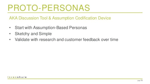 Personas will multiply
