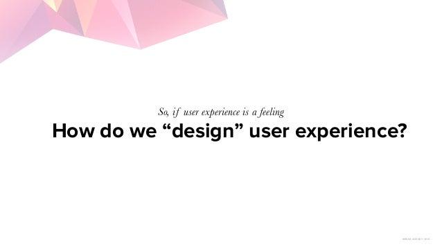 UX Lesson 1: User Centered Design Slide 3