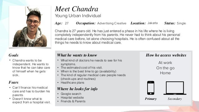 Chandra is 27 years old. He has just entered a phase in his life where he is living completely independently from his pare...