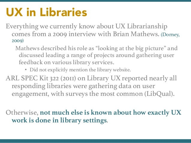 Usability and the mobile web a lita guide ebook 21 array ux librarians user advocates user researchers usability evaluators u2026 rh slideshare net fandeluxe Images