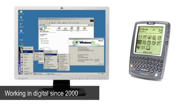 Working in digital since 2000