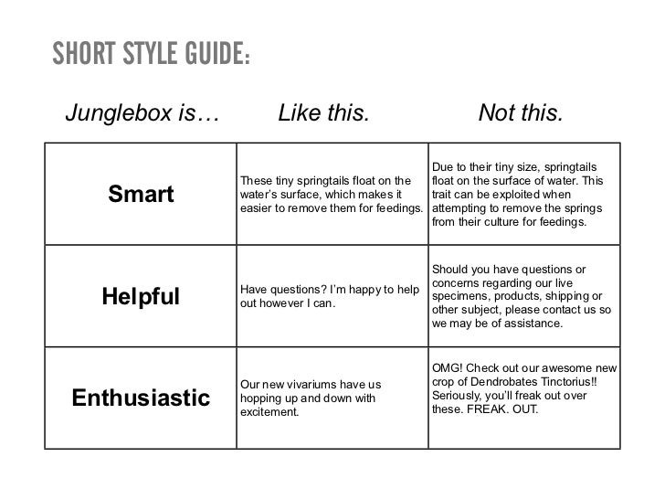 Page TablePage:              ProductsObjective:         Help customers understand we are experts who sell                 ...