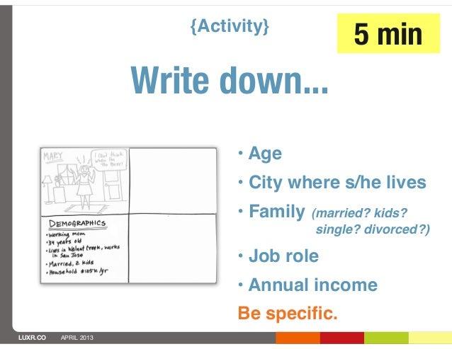 {Activity}                                                5 min                       Write down...                       ...