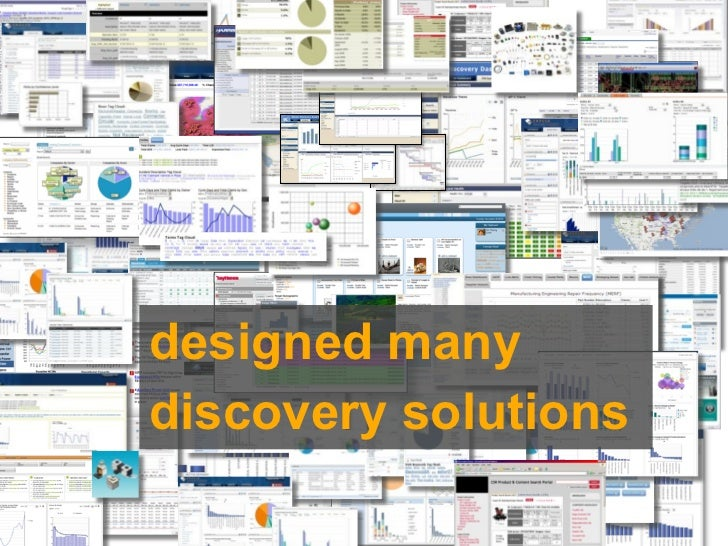 designed manydiscovery solutions