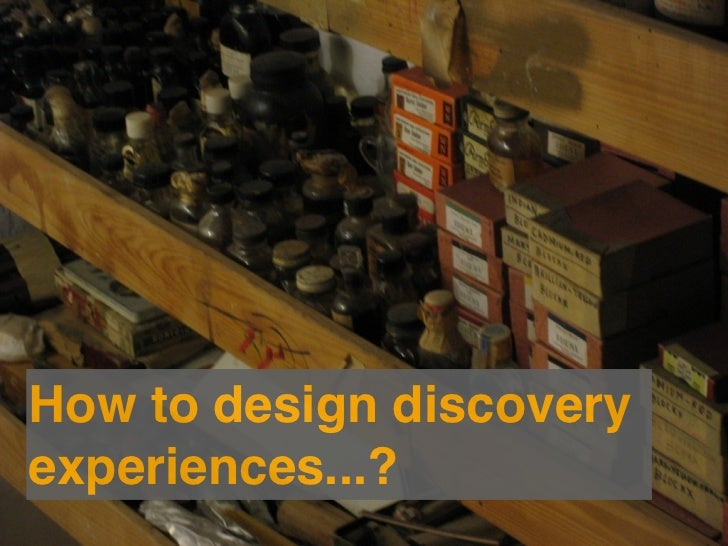 Leverages what is commonin human discovery.Allows for what varies incontexts of discovery