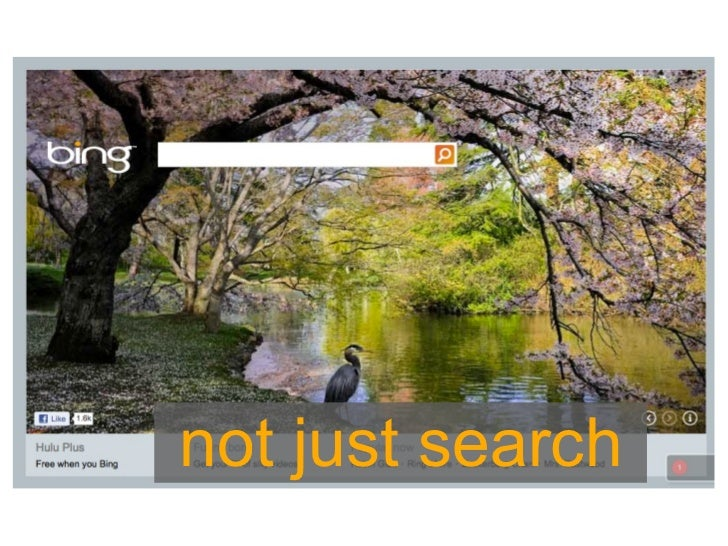 not just search